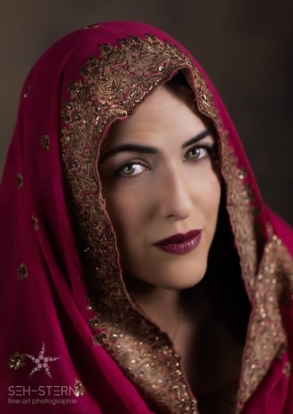 Orientalische Schönheit
