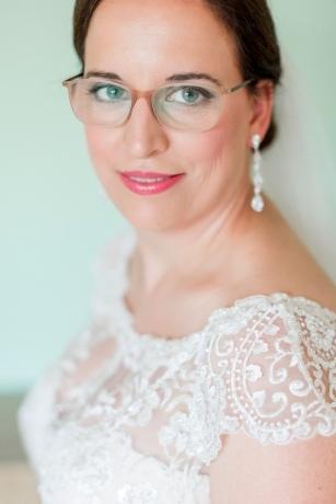 Braut Brille