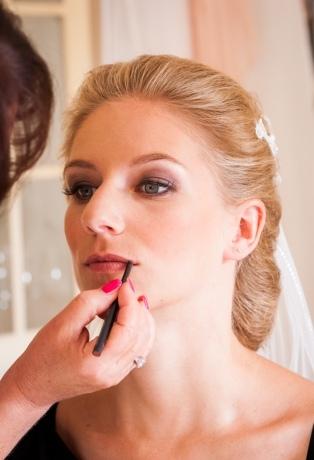 Hochzeit-Make-up